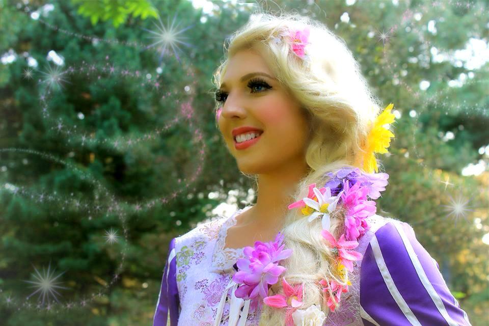 Rapunzel Tangled Princess Birthday Party Ottawa Kingston Toronto Kitchener Waterloo Brockville