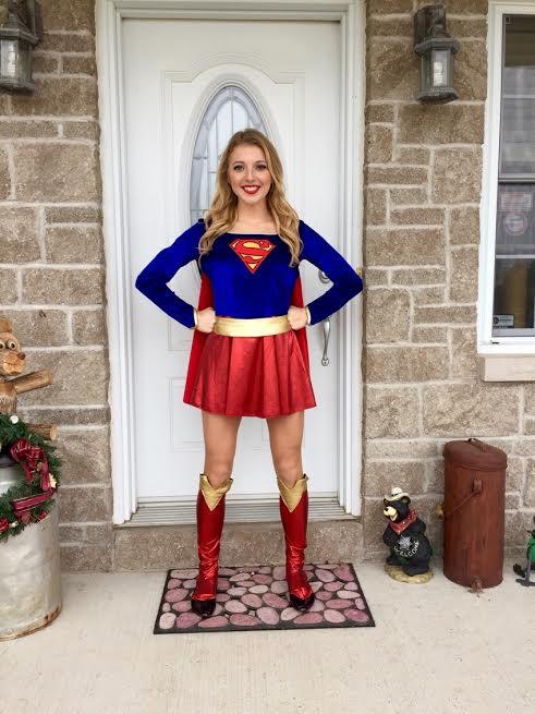 Supergirl Hero Ottawa Birthday Boys Party Official Princess